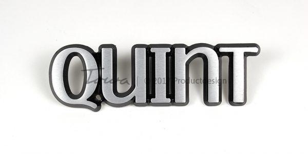Types de caractères Quint en aluminium