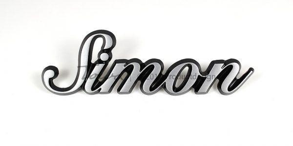 Types de caractères Simon en aluminium